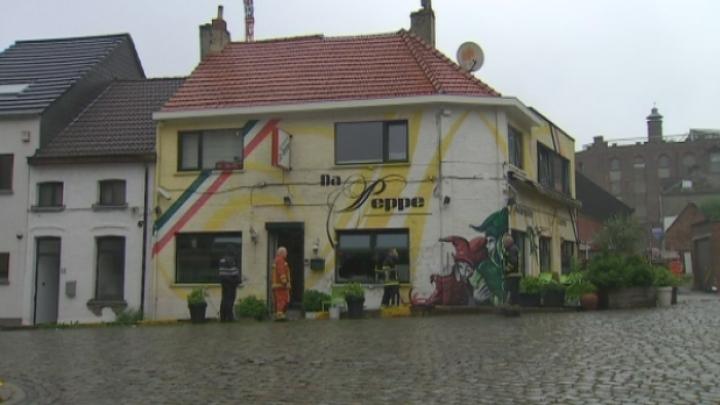 Brand in pizzeria Willebroek