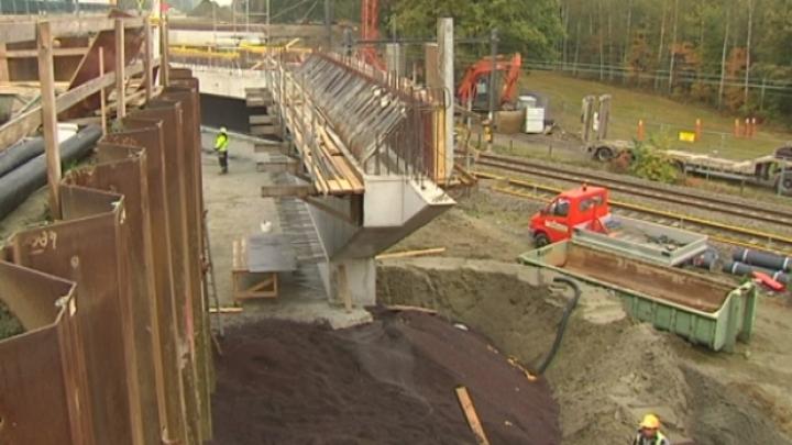 4 maanden vertraging voor werken spoorwegbrug E 313