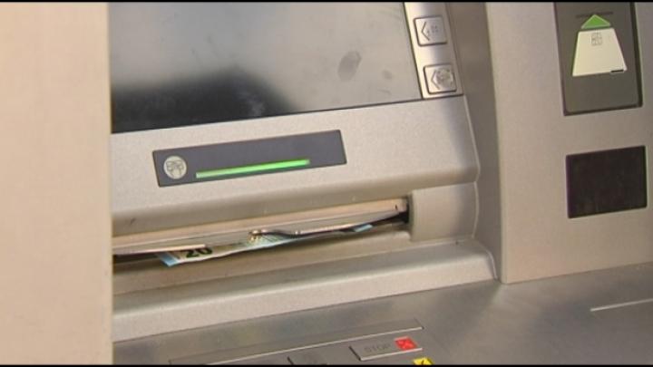 Elk gehucht haar bankautomaat?