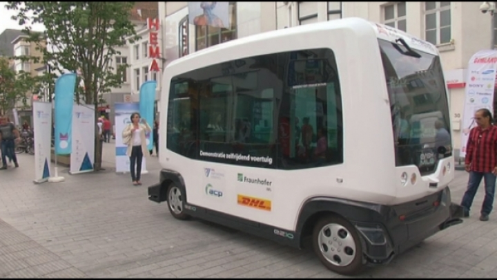 Mechelen test zelfrijdend voertuig om pakjes te leveren