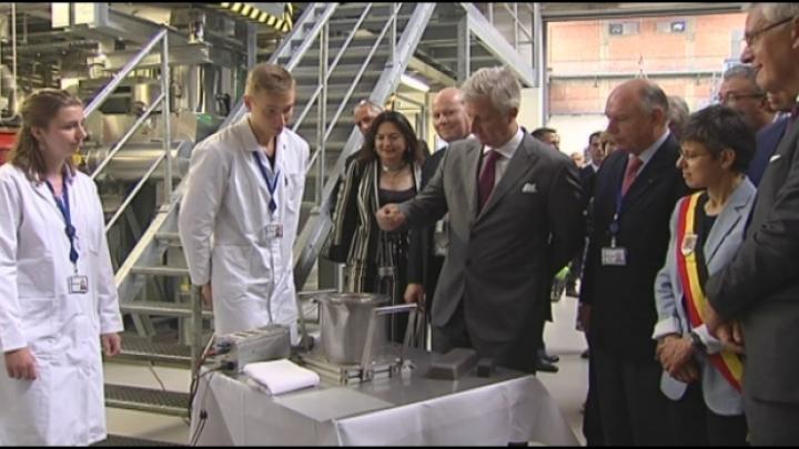 Koning Filip bezoekt MYRRHA-project SCK