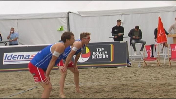 Tim Lemmens en Anshel Ver Eecke halen slotdag World Tour Beachvolley