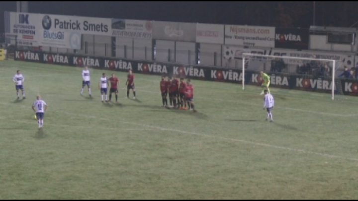 Heist wint opnieuw en duikt de top vier binnen in de Superliga