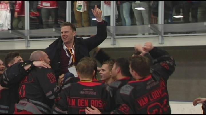 HYC wint beker in het ijshockey na knotsgekke partij
