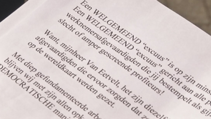 ACV afgevaardigen Bornem/Puurs schrijven open brief | RTV