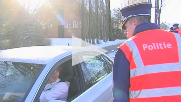 Turnhoutse politie controleert op vuurwerkvervoer