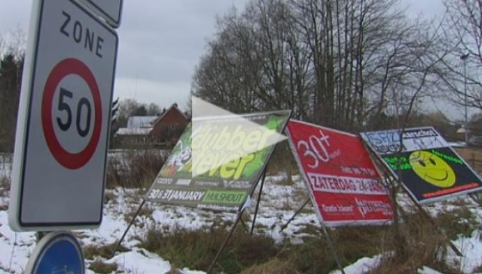 Geen publiciteitsborden meer langs gewestwegen vanaf 1 januari