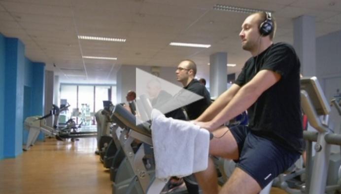 Vol goede voornemens naar de fitness