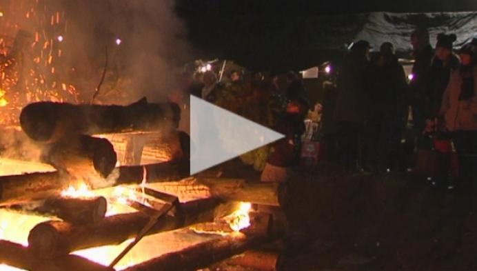 Misschien laatste kerstboomverbranding van scouts Grobbendonk