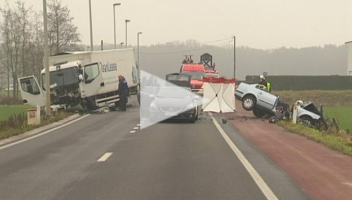 Dodelijk ongeval Poederleeseweg Herentals
