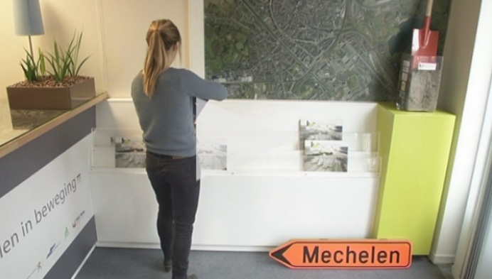 Mechelen in Beweging laat strip maken over stationsproject