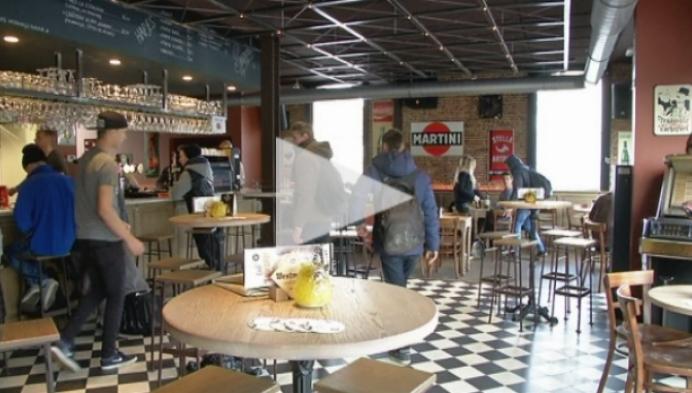 Ondanks protest in Brussel geen cafés gesloten in Heist