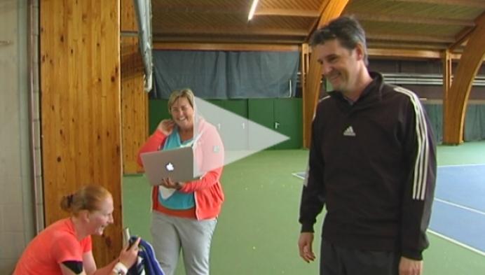 Greet Minnen niet te stoppen op Australian Open