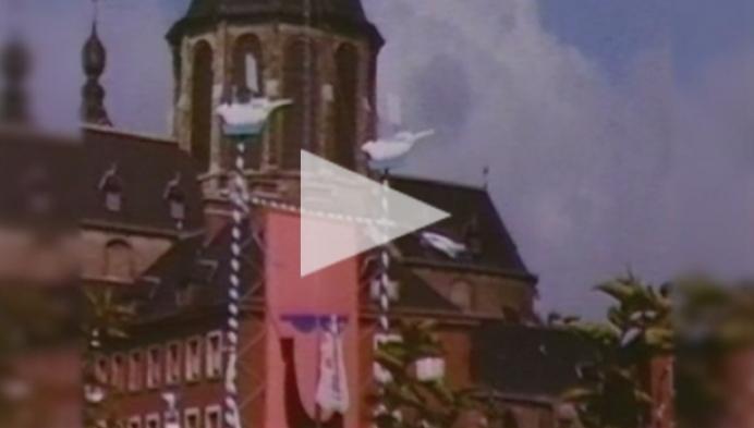Mechelse videoclub toont de Sint Romboutstoren MET uurwerk