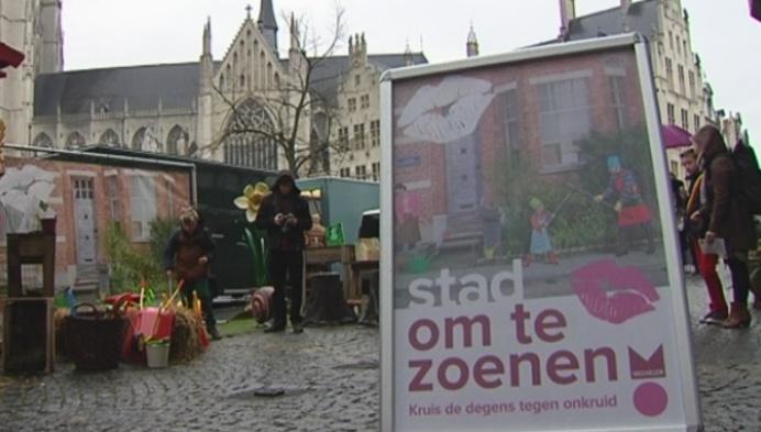 Campagne Mechelen stad om te zoenen van start