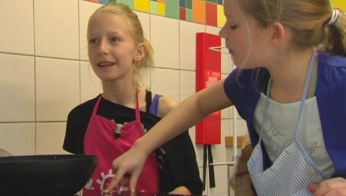 Kinderen op Paaskamp in Turnhout