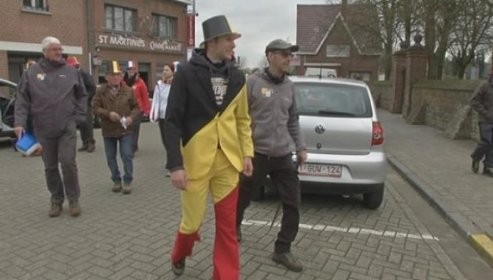 Veldrijder Corné Van Kessel trekt in Belgische Driekleur naar Scherpenheuvel