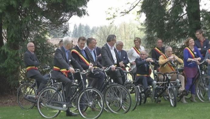 29 Kempense burgemeesters fietsen voor een beter klimaat