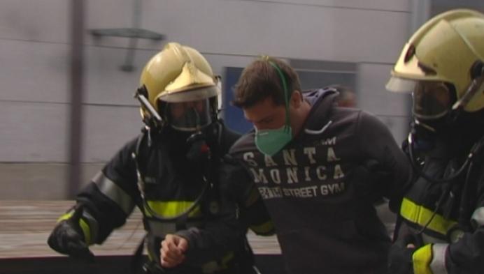 Unieke brandoefening in strafinrichting Merksplas