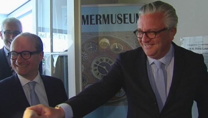 Prins Laurent opent Zimmermuseum