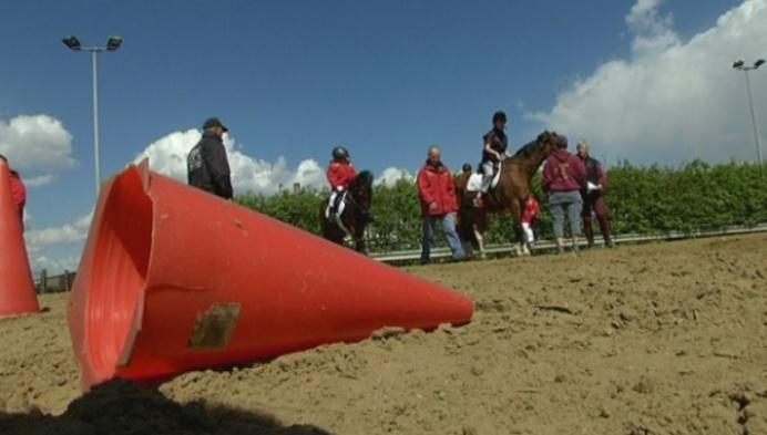 Dressuurwedstrijd voor g-ruiters in Zammel