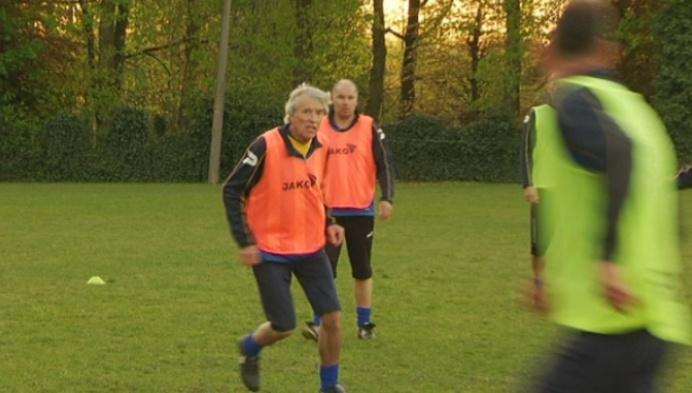 Willy Resseler is al 50 jaar voetballer