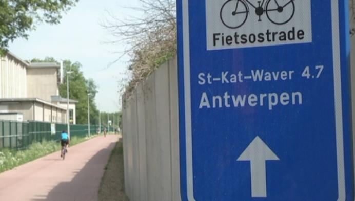 Fietsostrade Mechelen-Antwerpen zo goed als klaar