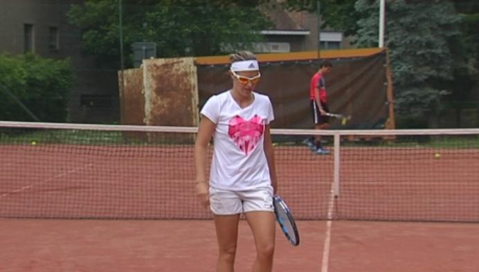 Kirsten Flipkens klaar voor Roland Garros