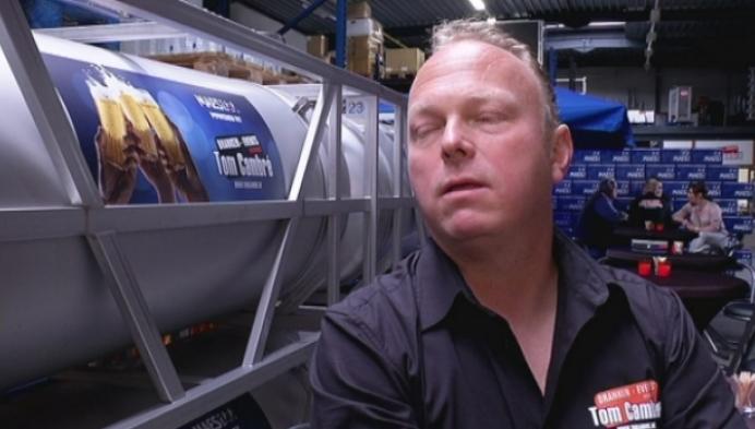Herentalse brouwer stelt bier in zakken voor