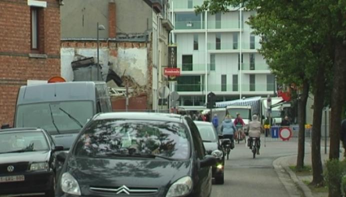 Parkeerchaos tijdens Mol Markt