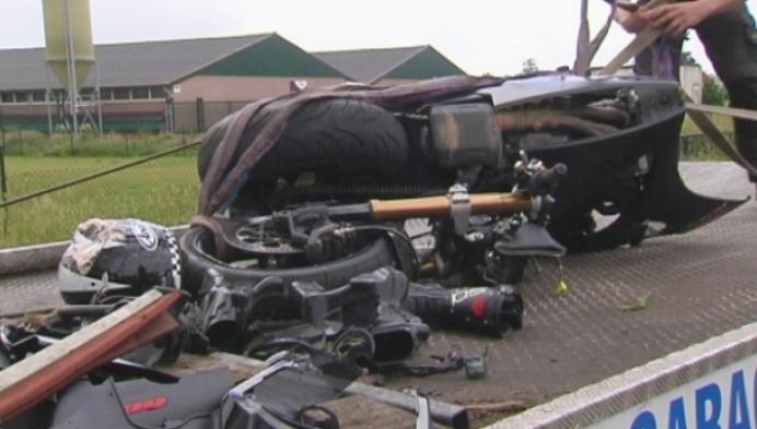 Motorrijder komt om bij ongeval