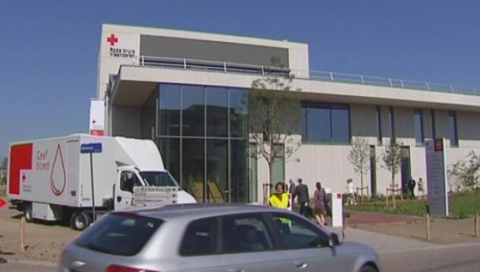 Rode Kruis Vlaanderen neemt gloednieuw laboratoriumgebouw in gebruik