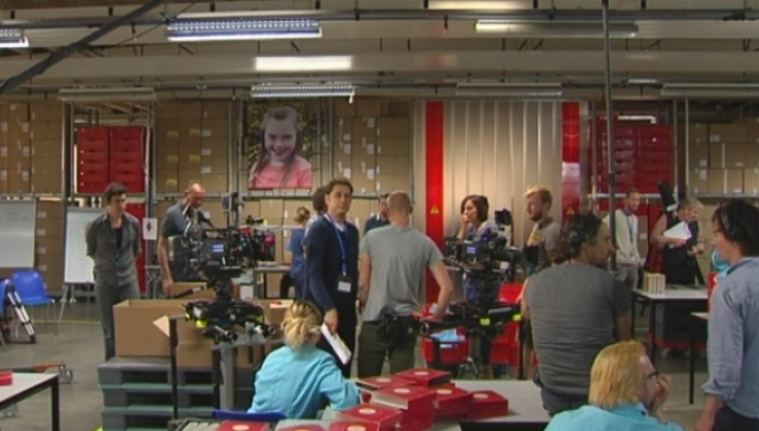 Crew van produktiehuis deMensen draait Vlaamse fictie met STAP-acteurs