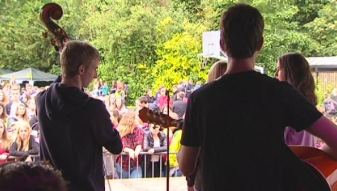 Hagelrock sluit schooljaar af in College Hagelstein