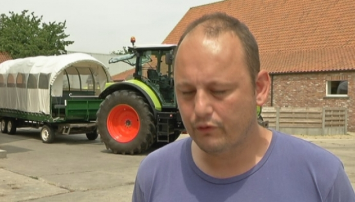 Uitstap met de traktor voor mensen Markdal