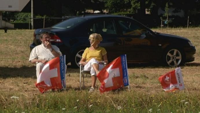 Fanclub Cancellara paraat in Koningshooikt