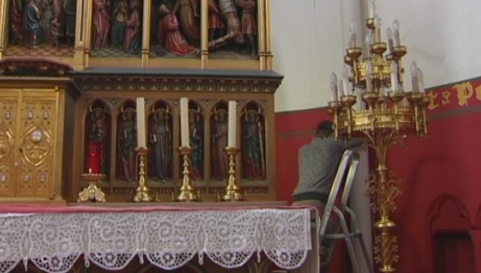 Muurschilderingen ontdekt in Berlaarse kerk