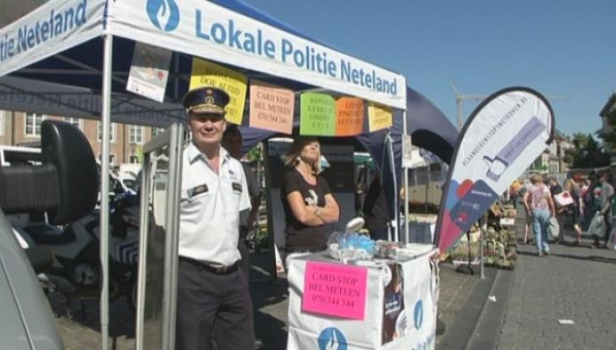 Politie Neteland sensibiliseert tegen gauwdiefstallen