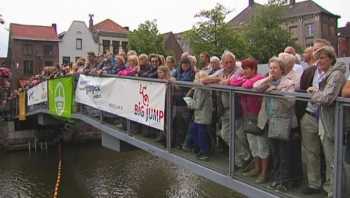 Big Jump voor proper water in Mechelen