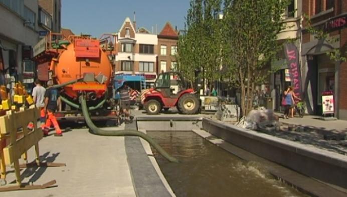 Vliet Botermarkt krijgt eindelijk water