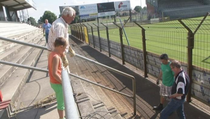 ASV Geel begint aan verbouwing stadion
