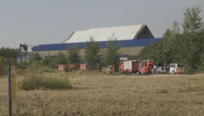 Fabrieksbrand in Willebroek werd aangestoken