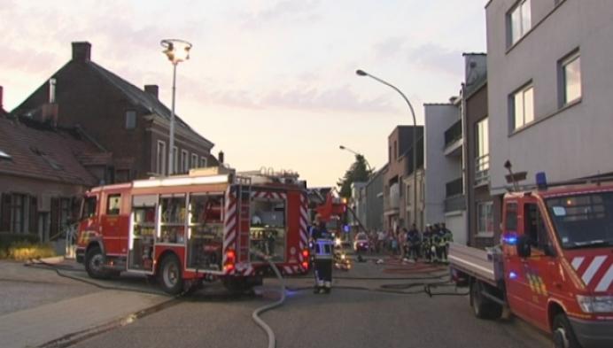Zware woningbrand in Veerle-Laakdal
