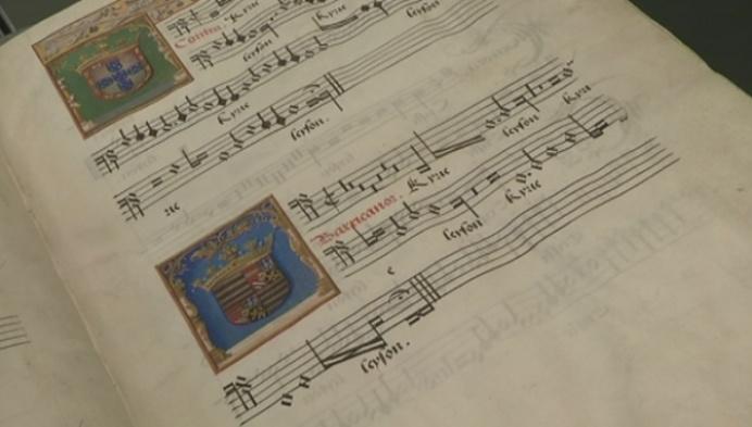 Koorboek van Margareta Van Oostenrijk verhuist tijdelijk naar Antwerpen