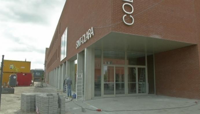 Nieuw gebouw Sint-Clara college bijna klaar