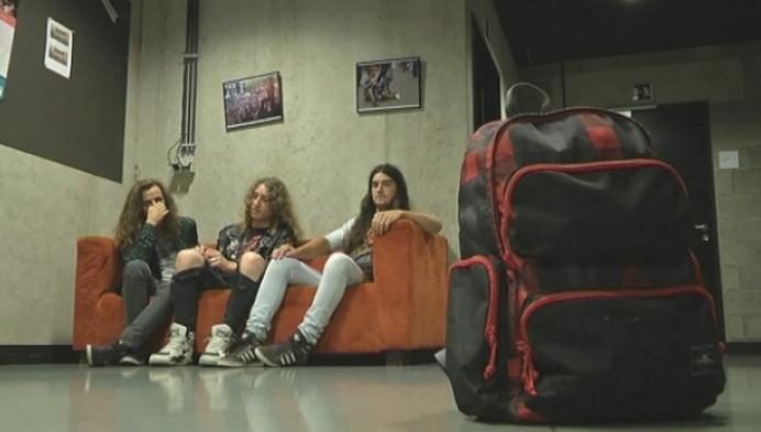 Heistse metalband bestolen in Milaan