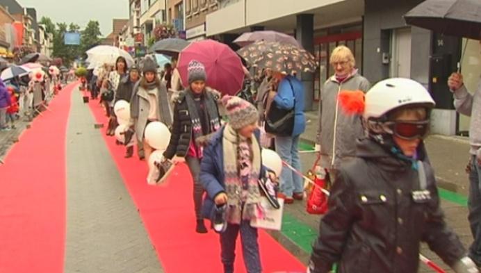 Winkelstraat Bornem is één grote catwalk