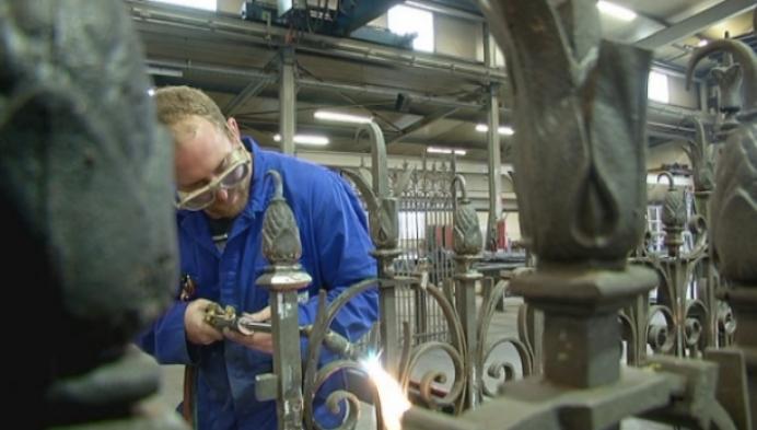 Kempens bedrijf renoveert poort Ursulinenklooster