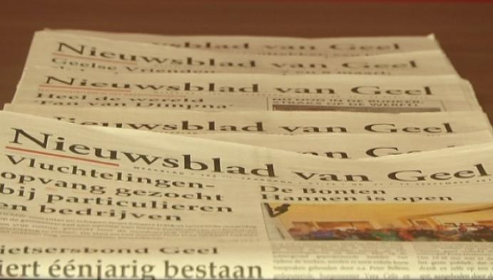 Nieuwsblad van Geel niet meer in Geelse handen