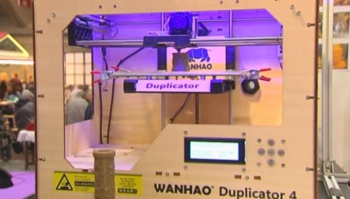 3D-printer voor thuis op Mechels Hobbysalon